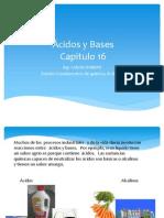 Acidos y Bases