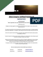 empire modified rulebook