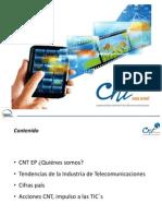 2.7. Xavier Peñaherrera CNT Acciones Impulsadas Por La CNT Como Impulso de Las TIC