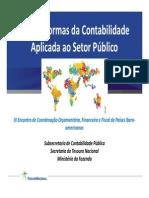 Normas de Contablidade Aplicada ao Setor Público