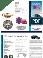 OTR Wheel Engineering Military Wheel products brochure