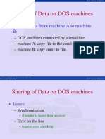 Lecture02 Data Sharing DOS Machines