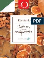 Chef Oropeza - Recetario Sabores Para Compartir