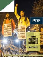 Draft Black Liberation Manifesto2.2 May2015