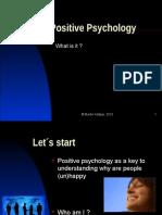 Positive Psychology at Harward