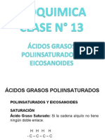 Clase 13 Acidos Grasos Poliinsaturados y Eicosanoides