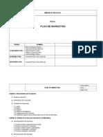 Cuaderno de Trabajo Del Plan de Marketing 2015
