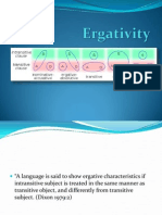 Ergativity