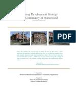 Homewood Neighborhood Revitalization Plan