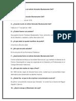 Preguntas Artista Salvador Bustamante Celi
