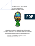 CRECIMIENTO DE LA MANCHA URBANA DE LA CUIDAD DE EL ALTO BOLIVIA GESTIONES 2001 2011
