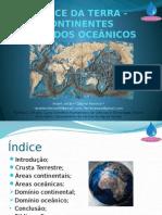 A Face Da Terra - Continentes e Fundos Oceânicos