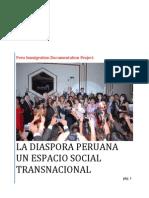 La Diaspora Peruana. El Concepto Diaspora Peruana y El Espacio Social Transnacional