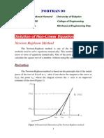 Fortran Newton