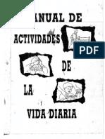 Manual de Actividades de La Vida Diaria