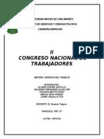 2do Congreso Nacional de Trabajadores