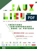 Dossier de presse - Expo Beaux Lieux