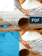 How to Create a Killer Content Strategy