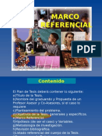Seminario Tesis 4 Marco Referencial