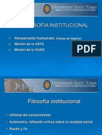 Objeto 4 Present. Filosofia Institucional