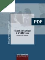 5-Reglas para utilizar el crédito fiscal
