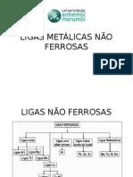 Ligas Metálicas Não Ferrosas - Apresentação