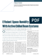 Humidity Control with Chilled Beams