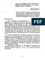 LA ARTICULACIÓN DEL CONOCIMIENTO BÁSICO BIOLÓGICO Y SOCIAL EN LA FORMACIÓN DEL PROFESIONAL DE LA SALUD