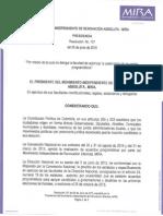 Resolución 107 del 5 de junio de 2015