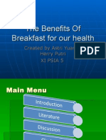 The Benefits Of Breakfast for our health 2.ppt