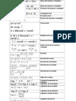 Formulas Matematicas Especiales