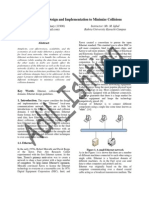 Best Ethernet Design and Implementation to Minimize Collisions report