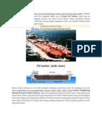 oil calculation for tanker ships