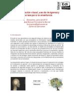 Alfabetización Visual.uso de Imágenes y Recursos Para La Enseñanza