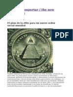 El plan de la élite para un nuevo orden social mundial.pdf