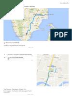 Thiruvarur route