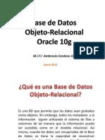 Objeto-Relacional Oracle 10g