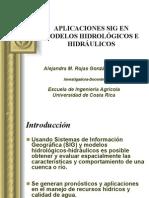 Aplicaciones Sig de Modelos Hidrulico-hidrolgico