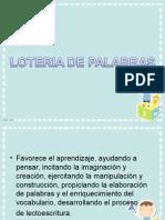 estrategias didacticas loteria