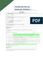 AUTOEVALUACIÓN UA1 de Generalidades Del Comercio Internaional