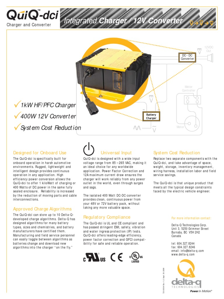 Quiq Battery Charger Wiring Diagram Library Onboard