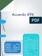 Acuerdo 696 Equipo