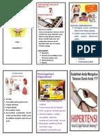 Leaflet Hipertensi