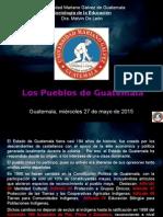 Los Pueblos de Guatemala 2015