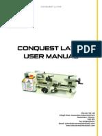 Conquest Lathe Manual