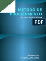 Trabalho de Metodologia de Pesquisa - João Paulo