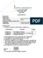 Quantitative Analysis in Management Assign