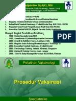 1_ Prosedur , Imunisasi (Soedjatmiko)