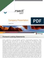 XENT Overview June 2015 Website Version
