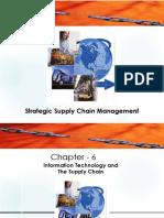 Strategic Supply Chain Management - Chapter 6